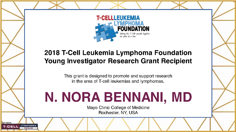 T-Cell Leukemia Lymphoma Foundation